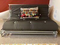 Double futon with brand new mattress