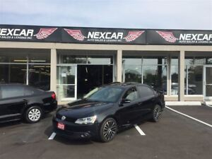 2013 Volkswagen Jetta 2.5L SPORTLINE LEATHER SUNROOF 45K