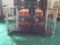 Glass TV Stand for TV's up to 49inches