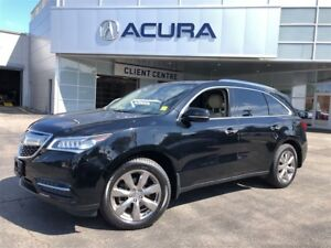 2014 Acura MDX ELITE | NEWTIRES | OFFLEASE | HITCH | TINT | MATS