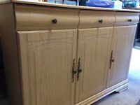Light wood sideboard good condition £35 ono