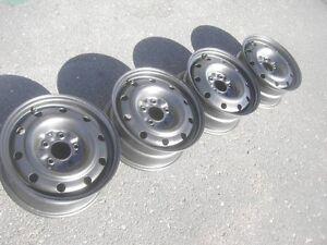 """4 16"""" dodge caravan steel wheels"""