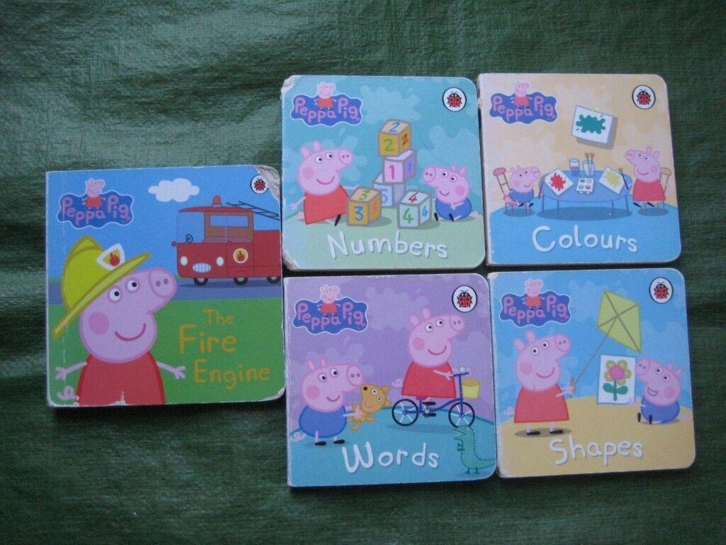 5 Peppa Pig Hardboard Books in Full Colour for £3.00 | in Lewisham ...