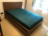 Double bed with 4 drawers for 50£ (original price: 329£)