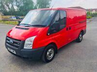 Ford Transit Van SWB 2.2TDCi Duratorq T260 12 Month MOT 49K Miles 2 Owner No VAT