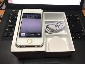 iPhone 4s white 16GB Vodafone! Very good condition, boxed