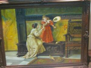 English Oil Painting