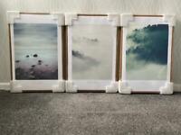 Canvas framed prints 60 x 40CM