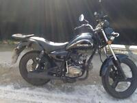 Zontes Tiger motorcycle 50cc