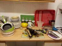 huge lot of kitchen bits