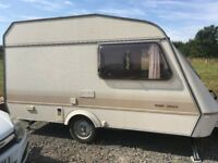 Caravan ideal for using on building site, spares or storage.