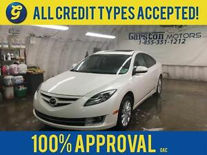 2012 Mazda Mazda6 GT*LEATHER*POWER SUNROOF*PHONE CONNECT*DUAL ZO