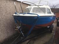 Boat microplus. 461 mariner 40hp ready to go