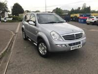 SsangYong rexton 2.7 Diesel automatic Mercedes engine and gearbox