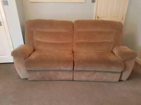 La-Z-Boy 3 seater Powered recliner sofa