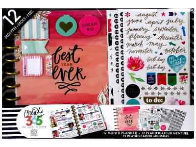Create 365 Happy Planner 12 Month Box Kit - Classic Best Year