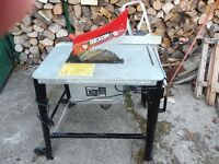 """BENCH SAW WITH 12"""" BLADE QUIET INDUCTION MOTOR"""
