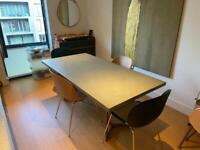 Dining Table by West Elm + 4 chairs