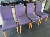 4 John Lewis dining chairs