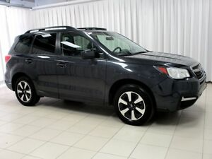 2017 Subaru Forester ONE OWNER SUNROOF ALLOYS & SYMMETRICAL AWD