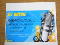 OLD SCHOOL KARAOKE/DISCO SERVICES