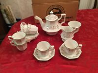 Brand new boxed Eternal Beau tea set