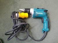 Makita FS4300 110v Drywall screwgun