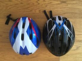 Child's bicycle helmets .