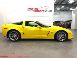2009 Chevrolet Corvette Z06 Fixed Roof 2LZ HUD