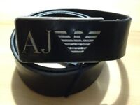 **BRAND NEW** ARMANI JEANS BELT FOR MEN - MADE IN ITALY - 100% LEATHER size 90cm/36""