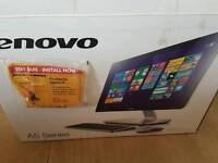 As new lenovo all in one computer
