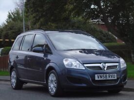 Vauxhall Zafira 1.6 i 16v Life 5dr£1,899 p/x welcome 1 OWNER,GOOD SRVICE,FULL MOT