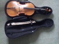 1/2 size good quality cello