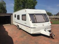 Fleetwood Heritage Twin Axle 22 ft long , air con, nearly new awning