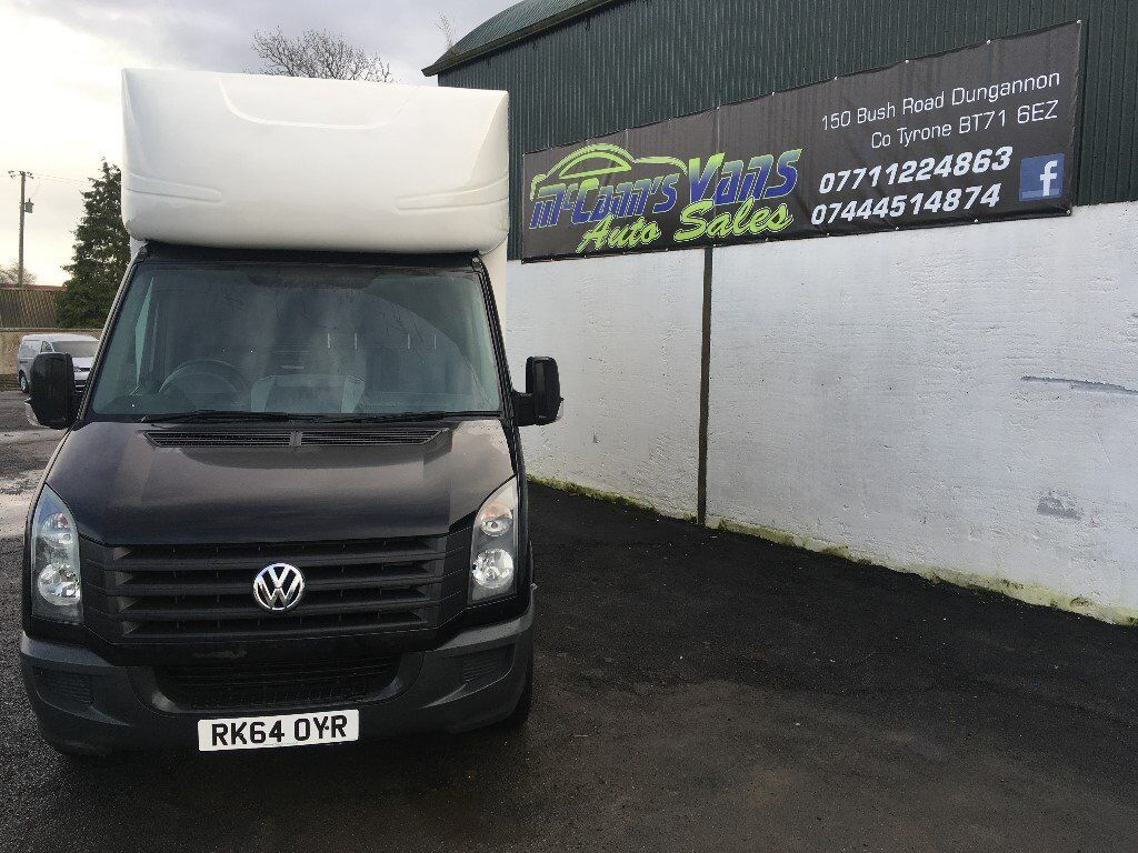 2014 CRAFTER LWB 136BHP LUTON WITH TAIL LIFTFINANCE AVAILABLE Dungannon