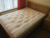 Double Bed (Frame and Mattress) great condition, £300