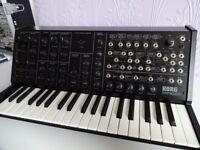 Korg ms20 mini analogue synthesizer