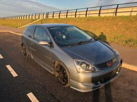 Honda Civic ep3 2005 stunning example,rust free low mileage engine good spec vxr st integra eg ej ek