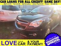 2010 Chevrolet Equinox LTZ * LEATHER * PWR ROOF * AWD