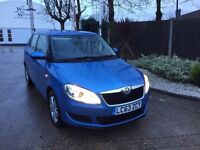 2014 SKODA FABIA 1.2 PETROL BULY LOW MILEAGE 17000 IMMACULATE CONDITION HPI CLEAR 1 YEARS MOT
