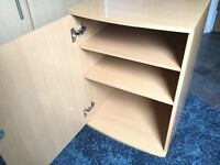 Small office cabinet