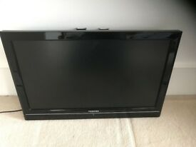Toshiba black TV FOR SALE 22 Inch