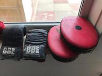 Boxing bag set