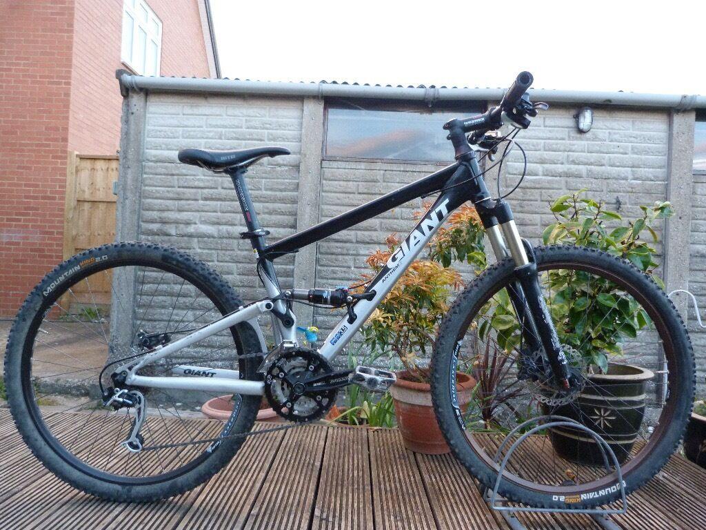 Giant Anthem X2 Mountain Xc Full Suspension Bike 16 Small Frame