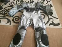 Teknic one piece leather bike suit