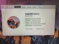 "Apple Macbook Air 13"", i5 2.7Ghz, Superb Condition, 128Gb SSD, 4Gb Ram, + 500Gb Backup Drive"