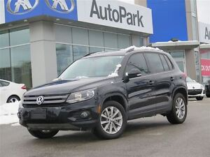 2014 Volkswagen Tiguan AWD/ALLOY WHLS/LEATHER/HEATED SEATS//PANO