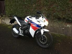 Honda CBR125R AS NEW ONLY 239 miles