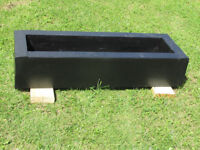 "RAILWAY STYLE PLANTER 46"" LONG 16"" WIDE 9"" HIGH[2ND ONE]"