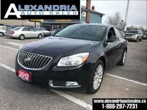 2012 Buick Regal premium1 leather roof safety & e test